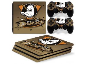 PS4 Pro Polep Skin NHL - Anaheim Ducks
