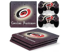 PS4 Pro Polep Skin NHL - Carolina Hurricanes