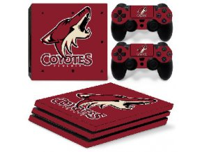 PS4 Pro Polep Skin NHL - Arizona Coyotes