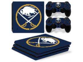 PS4 Pro Polep Skin NHL - Buffalo Sabres