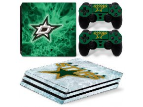 PS4 Pro Polep Skin NHL - Dallas Stars
