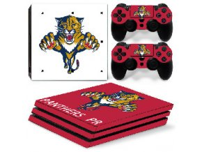 PS4 Pro Polep Skin NHL - Florida Panthers