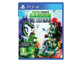 PS4 Plants vs Zombies: Garden Warfare