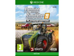 Xbox One Farming Simulator 19 - Platinum Edition