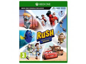 Xbox One Rush: A Disney Pixar Adventure