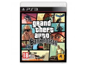 PS3 Grand Theft Auto: San Andreas