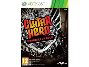 Xbox 360 Guitar Hero: Warriors of Rock