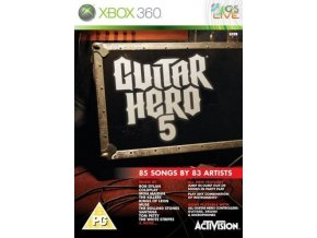 Xbox 360 Guitar Hero 5