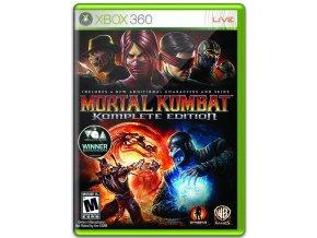 Xbox 360 Mortal Kombat 9 - Komplete Edition
