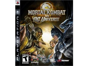 PS3 Mortal Kombat vs DC Universe