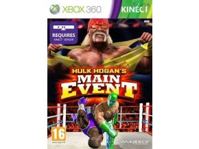 Xbox 360 Hulk Hogan's Main Event