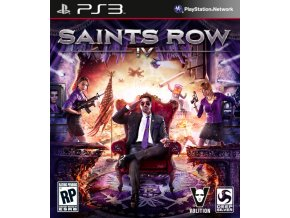 PS3 Saints Row 4 (Commander in Cheif Edition)