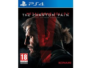 PS4 Metal Gear Solid V: The Phantom Pain (Day One Edition)