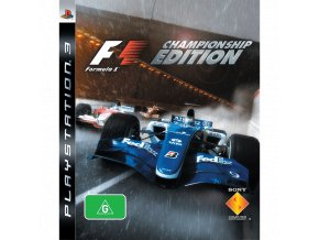 PS3 Formula One - Championship Edition