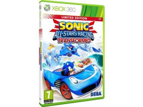 Xbox 360 Sonic & All-Stars Racing Transformed