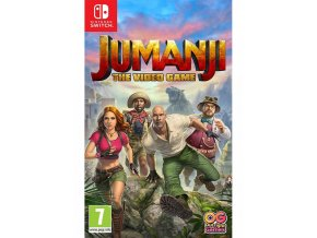Nintendo Switch Jumanji The Video Game