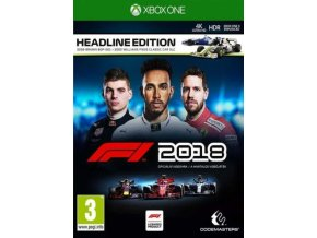 Xbox One F1 2018 - Headline Edition