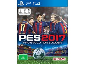 PS4 Pro Evolution Soccer 2017
