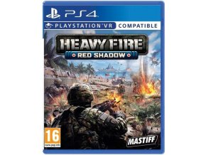 PS4 Heavy Fire Red Shadow