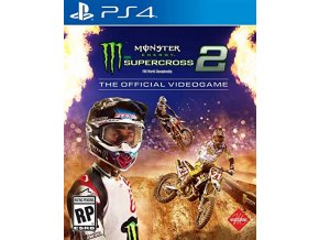 PS4 Monster Energy Supercross 2 The Official Videogame