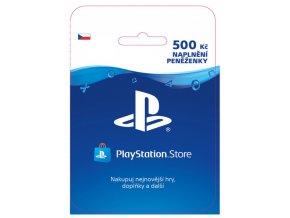 SONY PlayStation Store Kredit - 500 Kč