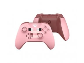 Microsoft Xbox One S Wireless Controller Minecraft Pig