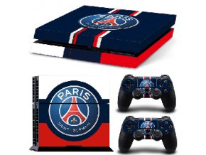 PS4 Polep Skin Paris Saint-Germain FC