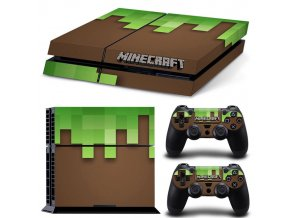 PS4 Polep Skin Minecraft