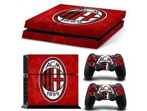 PS4 Polep Skin AC Milan