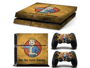 PS4 Polep Skin Fallout