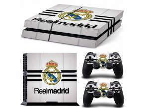 PS4 Polep Skin Real Madrid