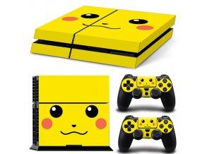 PS4 Polep Skin Pikachu