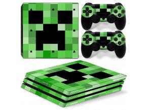 PS4 Pro Polep Skin Minecraft