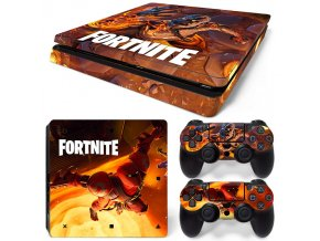 PS4 Slim Polep Skin Fortnite