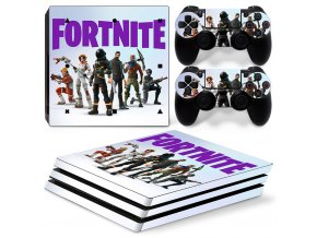 PS4 Pro Polep Skin Fortnite