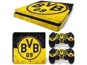 PS4 Slim Polep Skin Dortmund