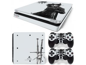 PS4 Slim Polep Skin The Witcher