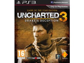 PS3 Uncharted 3: Drake's Deception GOTY CZ