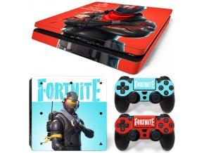 PS4 Slim Polep Skin Fortnite