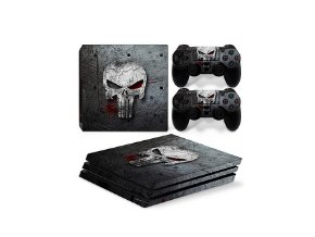 PS4 Pro Polep Skin Punisher