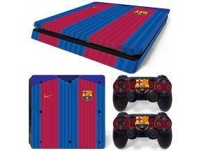 PS4 Slim Polep Skin Barcelona FC