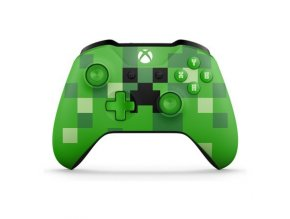 Microsoft Xbox One Wireless Controller Minecraft