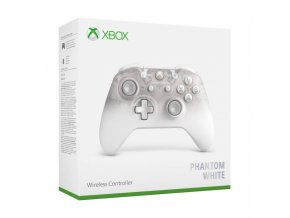 Microsoft Xbox One Wireless Controller Phantom White aaa