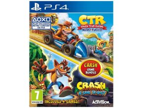PS4 Crash Team Racing + Crash Bandicoot N Sane Trilogy