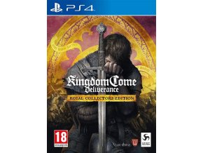 PS4 Kingdom Come Deliverance Royal Collector's Edition