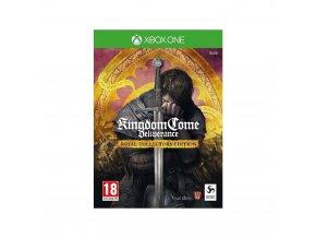 Xbox One Kingdom Come Deliverance Royal Collector's Edition