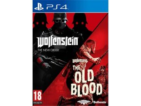 PS4 Wolfenstein The New Order + The Old Blood