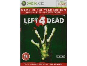Xbox 360 Left 4 Dead GOTY