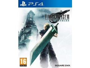 PS4 Final Fantasy VII Remake