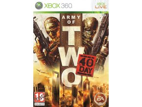 Xbox 360 Army of Two: The 40th Day